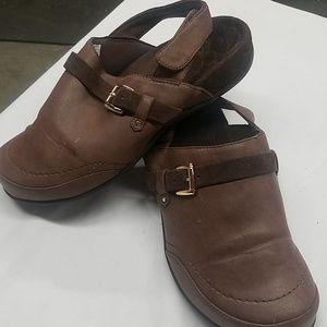 Vionic | Brown Soft Clogs-Size 8